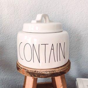 Rae Dunn Contain Container